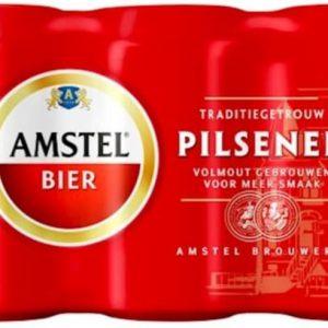 Amstel 6 blikjes bier