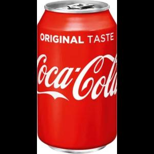 Coca cola blikje 33cl
