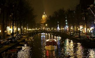 Bezorging in Centrum Amsterdam